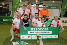 INDOOR B2SOCCER Hamburg 2016