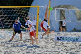 B2BEACHSOCCER Munich Beach Resort 2017