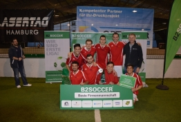 INDOOR B2SOCCER Hamburg 2017