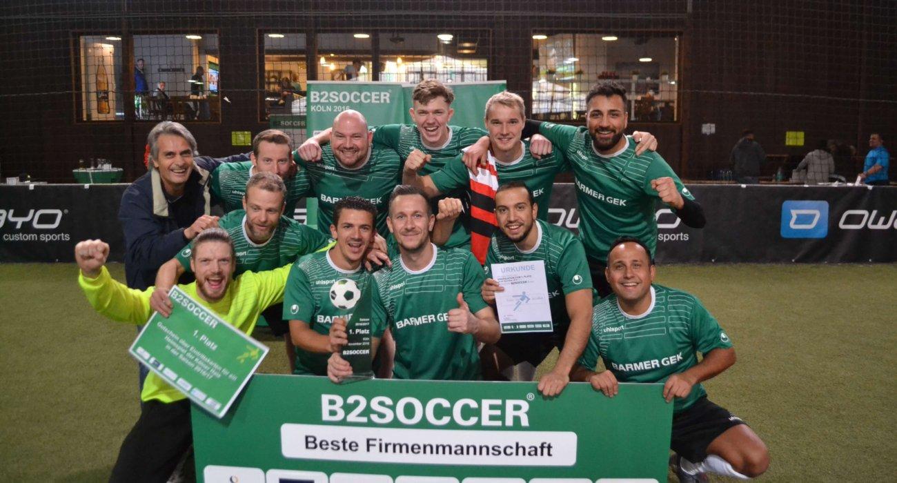 Sieger B2SOCCER Köln 2016