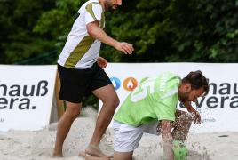 Oberschleißheim, Deutschland, 21.06.2019:B2Beachsoccer, Saison 2019, B2Beachsoccer in MünchenFoto: Christian Riedel / fotografie-riedel.net