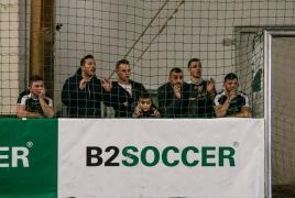 Erding, Deutschland, 23.02.2019: Fußball, INDOOR B2SOCCER Erding Foto: Christian Riedel / fotografie-riedel.net