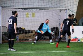 Erding, Deutschland, 07.03.2020:Fußball, INDOOR B2SOCCER ErdingFoto: Christian Riedel / fotografie-riedel.net
