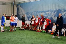 Erding, Deutschland, 07.03.2020: Fußball, INDOOR B2SOCCER Erding  Foto: Christian Riedel / fotografie-riedel.net