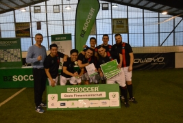 INDOOR B2SOCCER Hamburg 2018