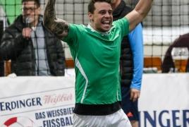 Unterföhring, Deutschland, 27.01.2018: Fußball, INDOOR B2SOCCER München Foto: Christian Riedel / fotografie-riedel.net