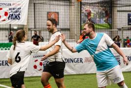 Heimstetten, Deutschland, 26.01.2020:Fußball, INDOOR B2SOCCER MünchenFoto: Christian Riedel / fotografie-riedel.net