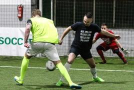 Unterföhring, Deutschland, 26.01.2019: Fußball, INDOOR B2SOCCER MünchenFoto: Christian Riedel / fotografie-riedel.net