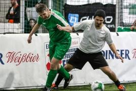 Unterföhring, Deutschland, 26.01.2019:Fußball, INDOOR B2SOCCER MünchenFoto: Christian Riedel / fotografie-riedel.net