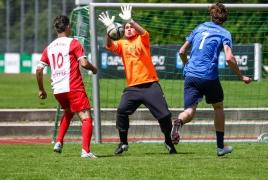 Oberhaching, Deutschland, 07.07.2018: Fußball, OUTDOOR B2SOCCER München  Foto: Christian Riedel / fotografie-riedel.net